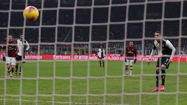 Dank Cristiano Ronaldo nimmt Juventus Turin Kurs auf das italienische Pokalfinale