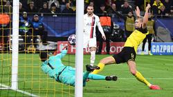Überragte beim Sieg des BVB gegen PSG: Erling Haaland