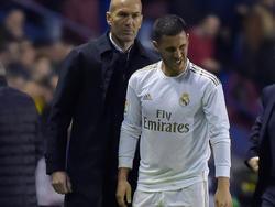 Zinedine Zidane muss Eden Hazard ersetzen