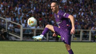 Franck Ribéry spielt jetzt für AC Florenz