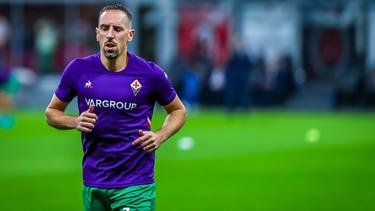 Nach Verletzung zurück im Training: Franck Ribéry