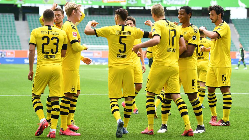 Der BVB feierte einen Sieg beim VfL Wolfsburg