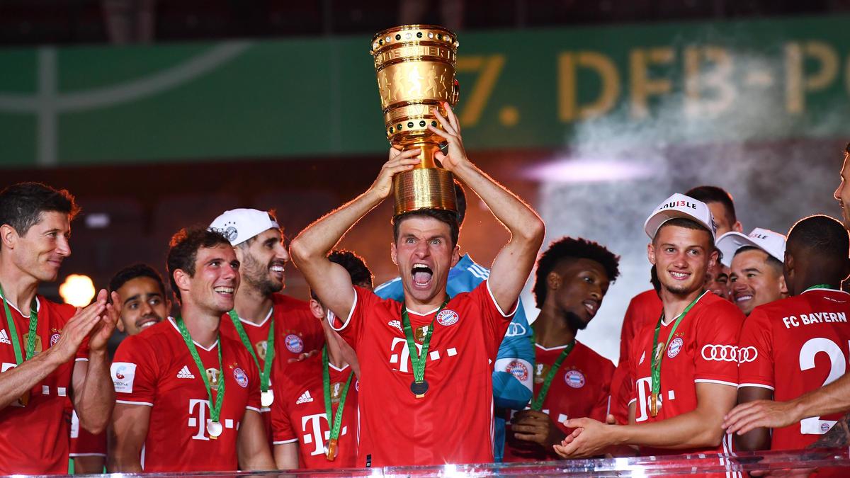 Thomas Müller war nicht nur nach feiern zumute