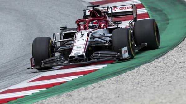 Alfa-Romeo-Fahrer Kimi Räikkönen verpasste die Punkteränge nur knapp