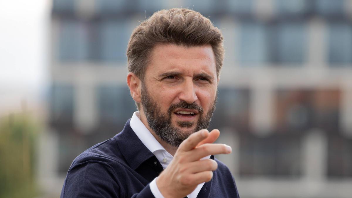 Marko Pesic, Geschäftsführer der Basketball-Abteilung des FC Bayern