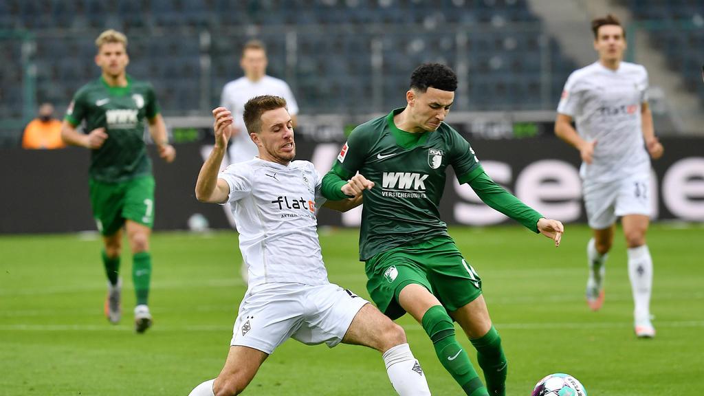 Gladbach und Augsburg trennten sich am Samstagnachmittag die Punkte