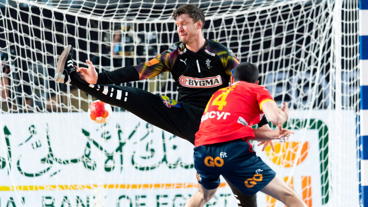 Niklas Landin greift mit den Dänen nach dem Titel