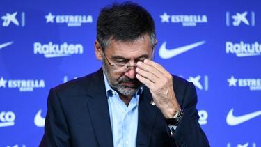 Ex-Barca-Präsident Josep Maria Bartomeu befindet sich wieder auf freiem Fuß