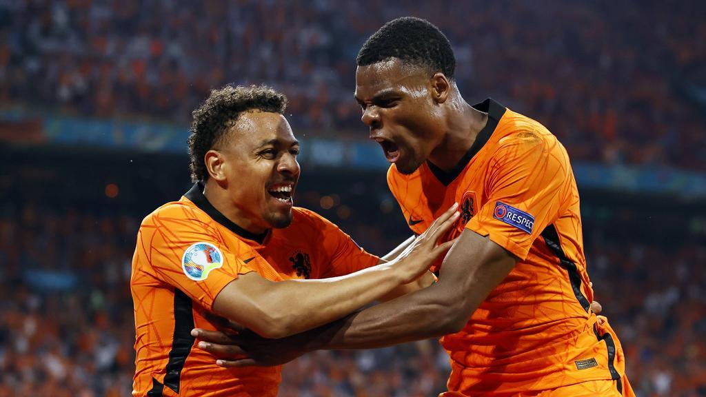 Die Niederlande ziehen ins Achtelfinale der EM 2021 ein