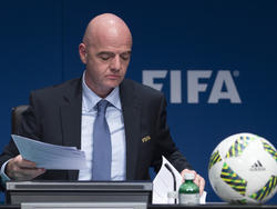 El presidente de la FIFA, Gianni Infantino, en una imagen de archivo. (Foto: Getty)