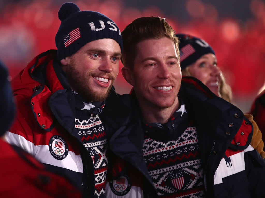 Gus Kenworthy (links) hat bei den Olympischen Spielen für einen besonderen Moment gesorgt