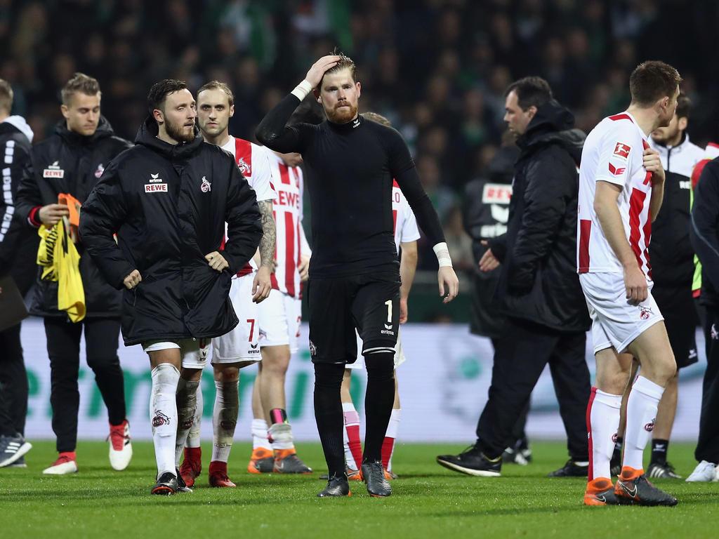 Timo Horn kritisiert den Auftritt des 1. FC Köln in Bremen