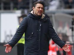 Niko Kovac will sich mit der Europa-League-Teilnahme aus Frankfurt verabschieden