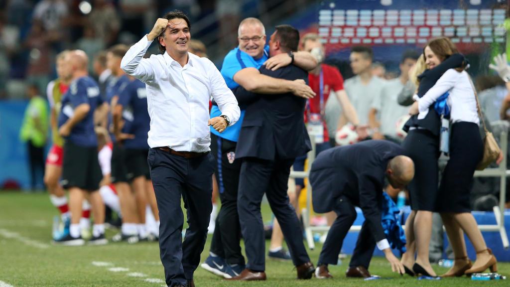 Für Kroatiens Trainer Zlatko Dalic ist der Fan-Nachteil gegen Russland nicht entscheidend
