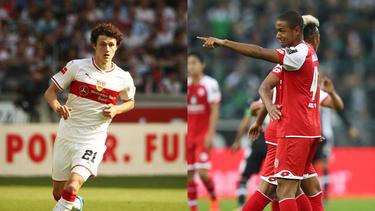 Benjamin Pavard (l.) und Abdou Diallo überzeugten in der letzten Bundesliga-Saison