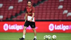 Neu auf Arsenals Trainerbank