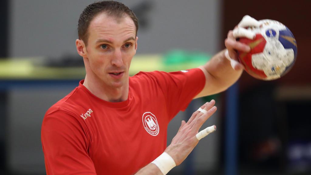 Holger Glandorf spielte bis 2017 für die deutsche Nationalmannschaft