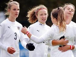 Die U19-Mädls sind ihrem Ziel einen großen Schritt näher