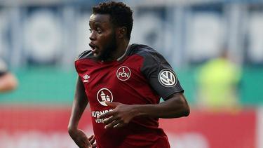 Edgar Salli traf doppelt für den 1. FC Nürnberg