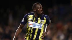 Usain Bolt spielte schon in mehreren Testspielen für die Central Coast Mariners
