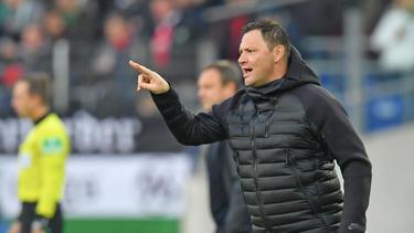 Mit seinen Spielern derzeit nicht zufrieden: Pál Dárdai