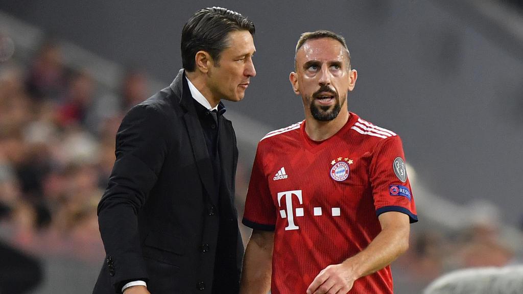 Niko Kovac passen die Schlagzeilen um Franck Ribéry überhaupt nicht in den Kram