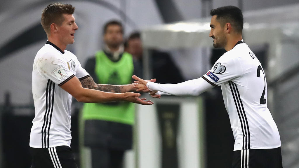 Übernimmt Toni Kroos den Platz von Ilkay Gündogan in Manchester?