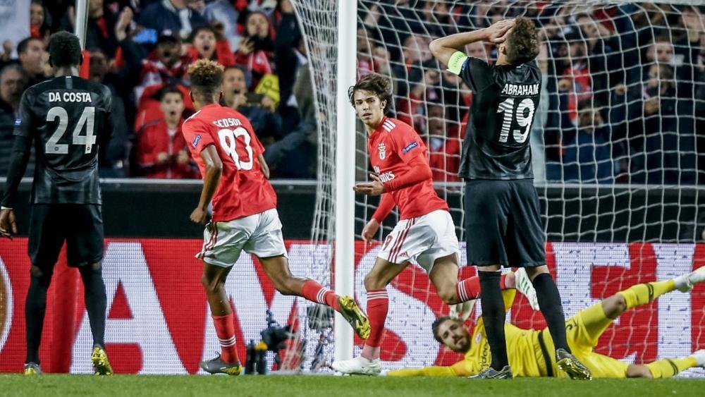 Eintracht Frankfurt verlor in Lissabon