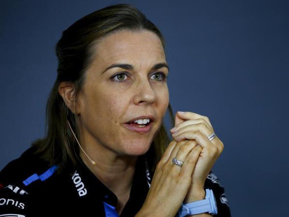 Claire Williams kämpft als einzige Frau an der Spitze eines Formel-1-Teams