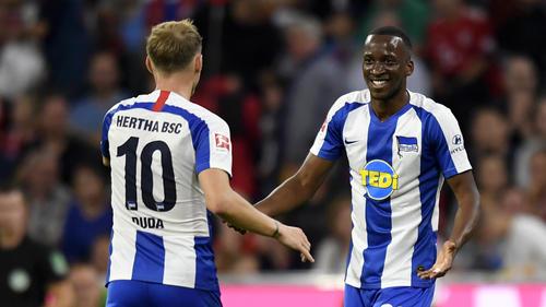 Dodi Lukebakio traf für Hertha zum 1:1