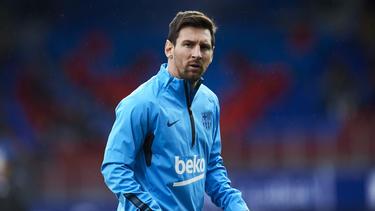 Wird dem FCBarcelona weiter fehlen: Lionel Messi