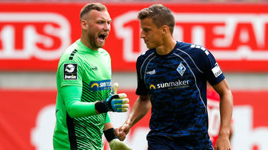 Waldhof Mannheim springt mit dem Sieg in Düsseldorf auf den siebten Tabellenrang