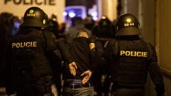 In Prag kam es zu zahlreichen Festnahmen