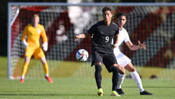 Traf sehenswert für die deutsche U19: Armindo Sieb vom FC Bayern