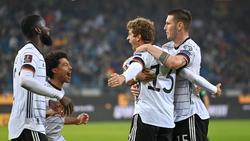 Funktioniert auch als Joker: Thomas Müller bejubelt sein Tor gegen Rumänien