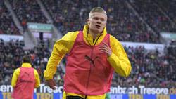 Erling Haaland erzielte in seinem ersten Spiel für den BVB gleich drei Tore