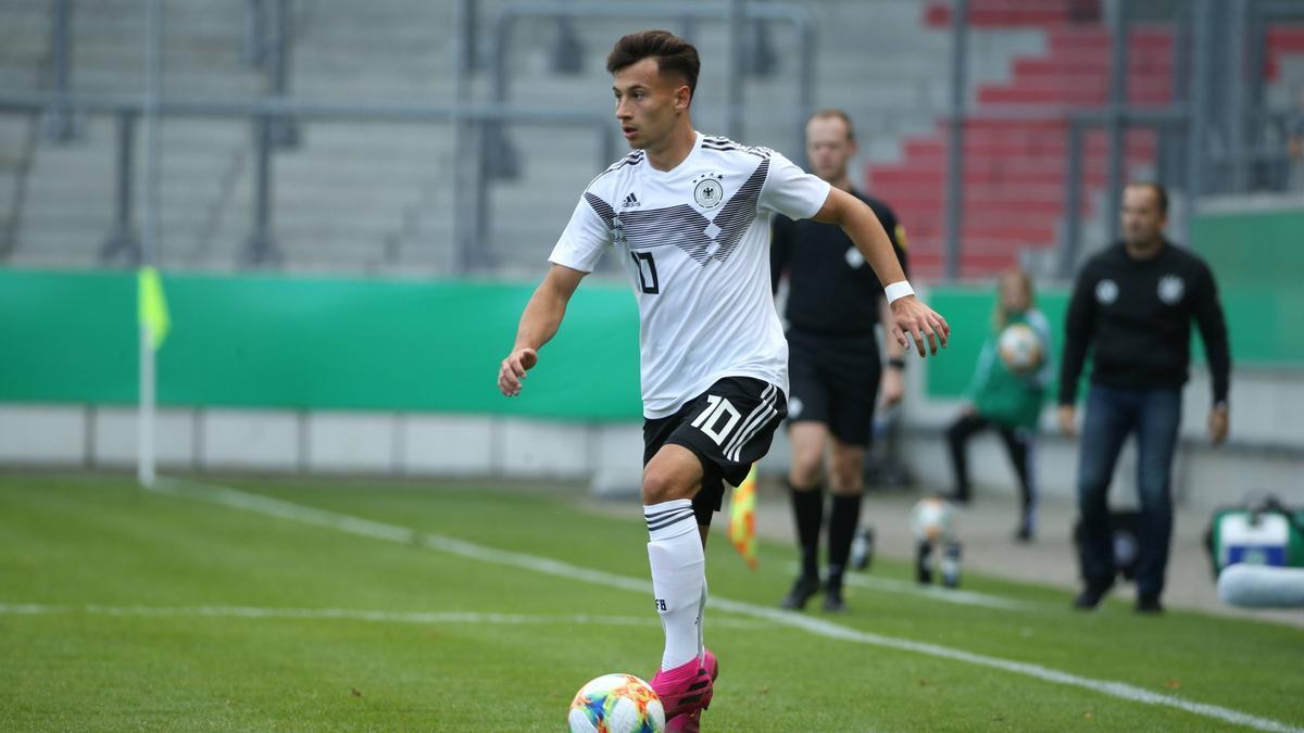 Hat in Manuel Baum einen großen Fürsprecher: U20-Nationalspieler Nicolas Kühn