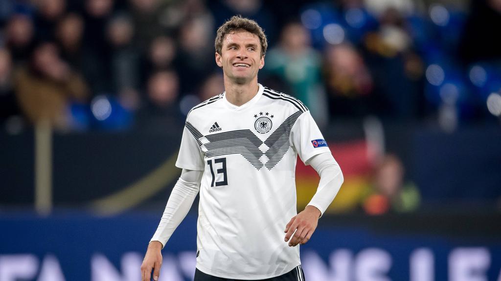 Thomas Müller vom FC Bayern ist weiterhin ein Olympia-Kandidat