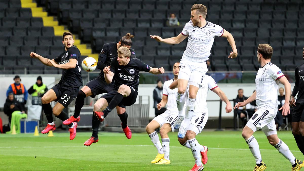 Eintracht Frankfurt Gegen Basel