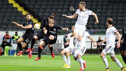 Eintracht Frankfurt kassierte eine bittere Pleite gegen Basel