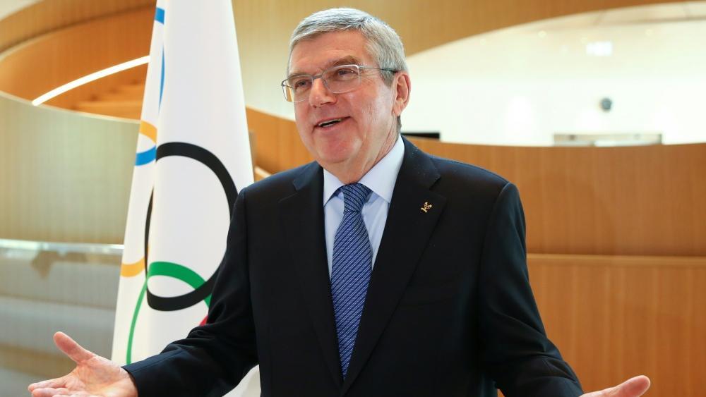 IOC-Präsident Thomas Bach dankt dem Schweizer Bundesrat