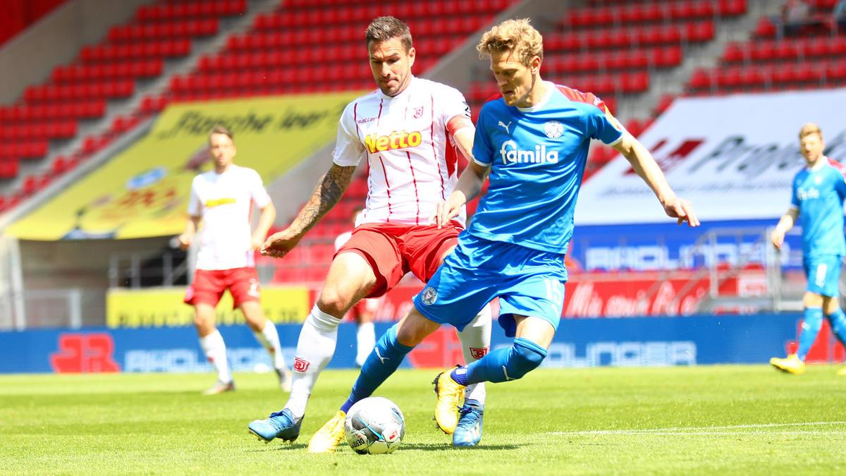 Kiel und Regensburg trennten sich unentschieden