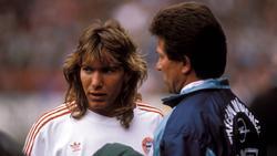 Michael Sternkopf (l.) spielte einst unter Jupp Heynckes beim FC Bayern