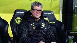 BVB-Stadionsprecher Norbert Dickel saß beim Geisterderby nicht am Spielfeldrand