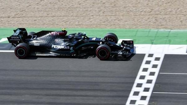Mercedes-Fahrer Valtteri Bottas schien auf die Pole zu fahren, aber es kam anders ...