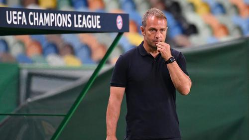 Bayern-Coach Hansi Flick konnte nicht zu 100 Prozent zufrieden sein