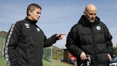 Solskjaer & Solbakken in 2011