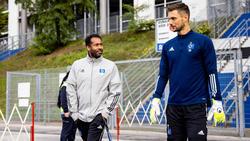 Sven Ulreich (re.) steht vor seinem Pflichtspieldebüt für den HSV