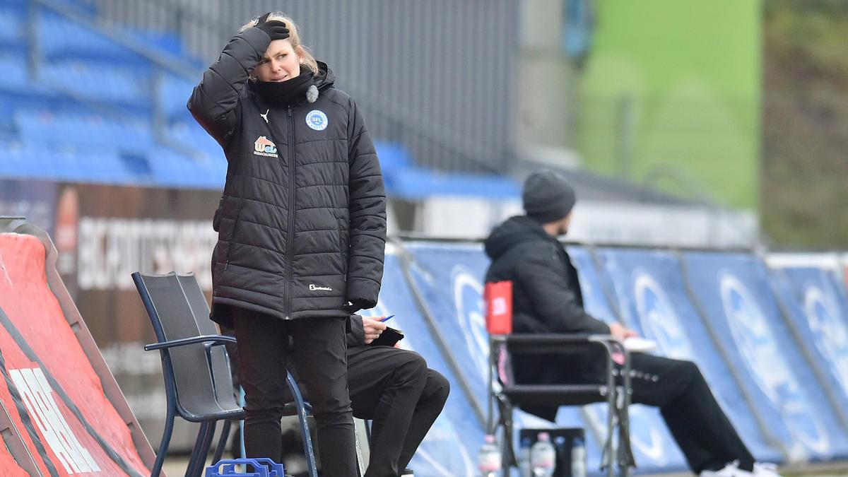 Imke Wübbenhorst ist nicht mehr Trainerin der Sportfreunde Lotte