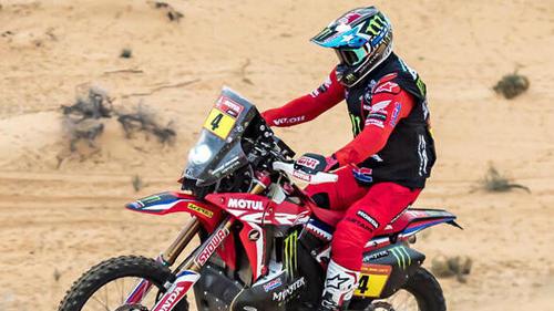 Ignacio Cornejo feiert bei der Rallye Dakar seinen ersten Tagessieg